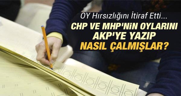 İşte Sandıkta Oynanan AKP Oyunu !