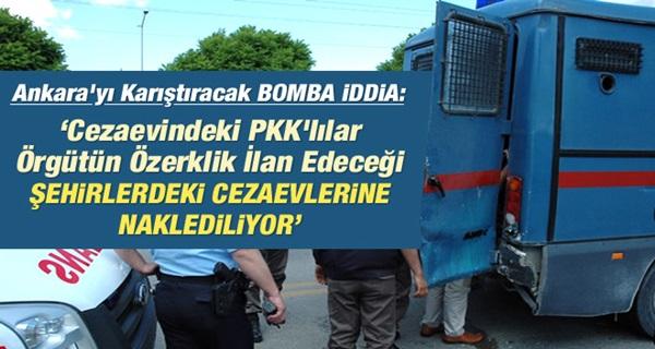 PKK'lıların Cezaevlerinde Yerleri Değiştiriliyor