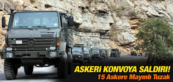 ASKERİ KONVOYA SALDIRI DÜZENLENDİ !