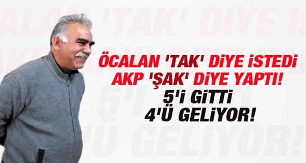 Öcalan İstedi AKP Hemen Yerine Getirdi!