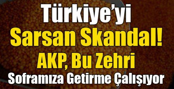 Türkiye'yi Sarsan Skandal !