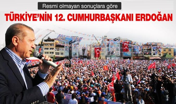 Recep Tayyip Erdoğan 12. Cumhurbaşkanı