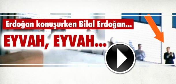Bilal Erdoğan az kalsın balkondan aşağı düşüyordu VİDEO