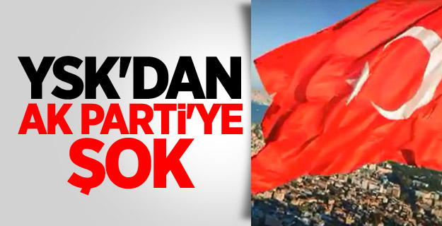 AK Parti'ye Ysk'dan Şok Karar!