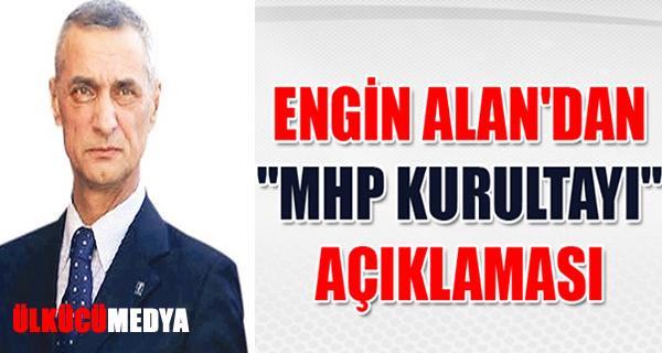 ENGİN ALAN'DAN ÖNEMLİ AÇIKLAMA !