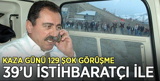 Yazıcıoğlu Kazasında 129 şok görüşme 39'u istihbaratçı ile !