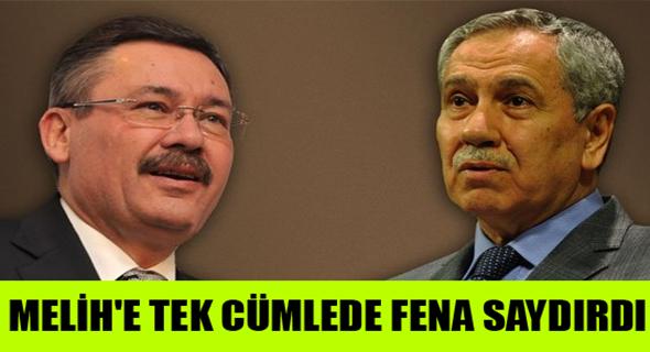 BÜLENT ARINÇ'TAN GÖKÇEK'E TEK CÜMLELİK CEVAP !