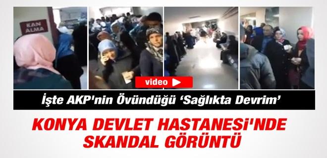 AKP'nin Övündüğü Sağlık, Hastanesi'nde Skandal Görüntüler !