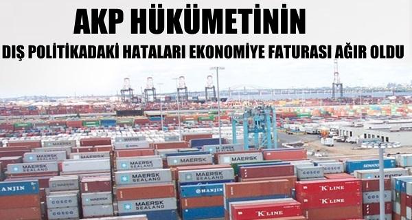 Türkiye Ortadoğu pazarını kaybediyor