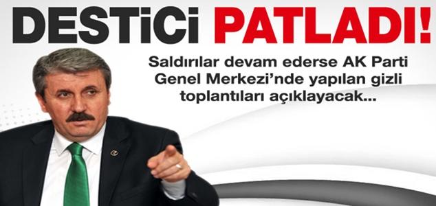 Mustafa Destici'den flaş açıklamalar!