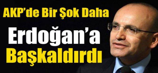 Mehmet Şimşek, Erdoğan'a başkaldırdı