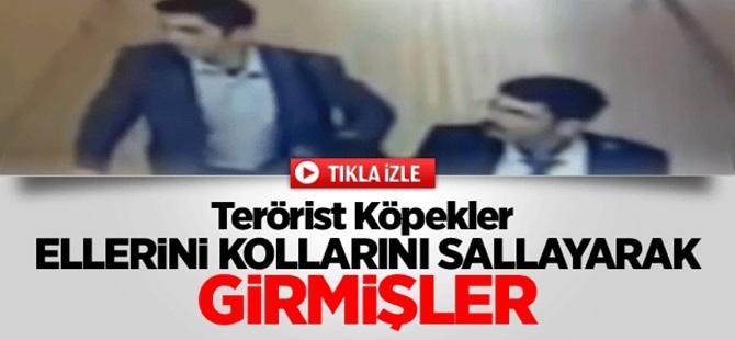 Teröristler Çağlayan Adliyesi'ne Böyle Girmiş