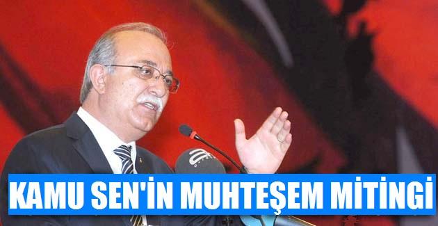 KAMU SEN'Lİ 50 BİN MEMUR ANKARA'YI SALLADI!