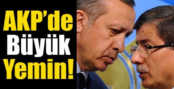 AKP'de büyük yemin!