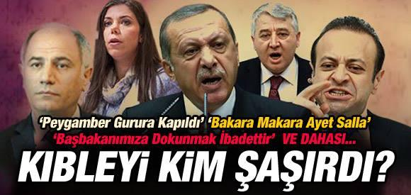 AKP'de kıbleyi şaşıranlar !