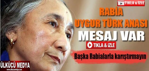 Uygur Türk Anası Rabia'dan mesaj var Video !