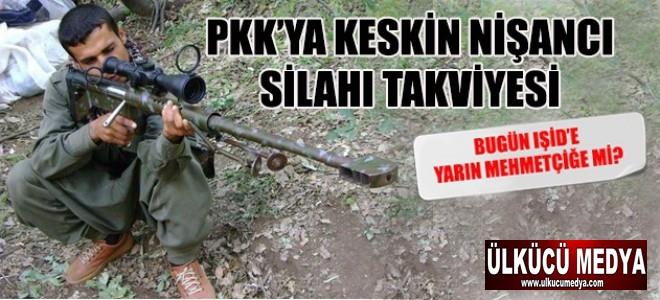 PKK'ya 'keskin nişancı silahı' takviyesi !