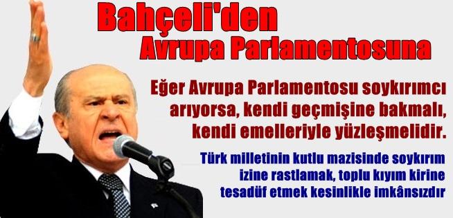 BAHÇELİ AP'YE VE AKP'YE ÇOK SERT SÖZLERLE TEPKİ GÖSTERDİ
