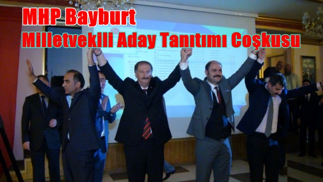 MHP BAYBURT'TA ADAY TANITIMINA YOĞUN İLGİ