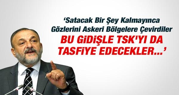MHP'li Oktay Vural: TSK'yı Tasfiye Edecekler