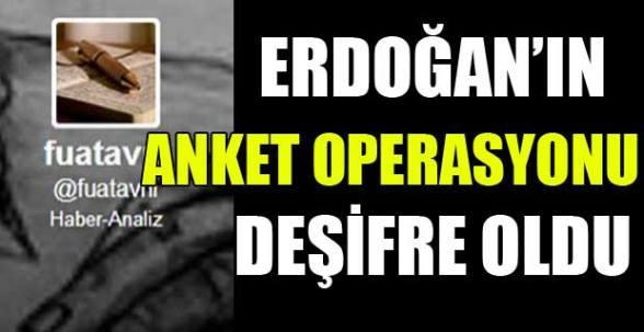 Fuat Avni, Erdoğan'ın anket operasyonunu deşifre etti