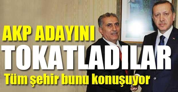 AKP'li Adayı Tokatladılar
