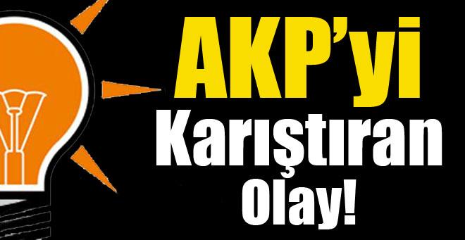 AKP'yi Kariştıran Olay