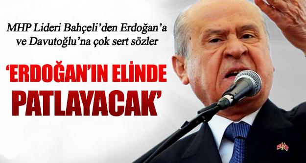 Devlet Bahçeli'den Erdoğan'a ve Davutoğlu'na çok sert sözler