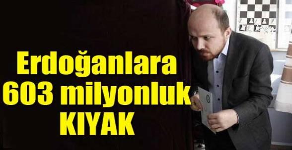Erdoğanlara 603 Milyonluk Kıyak