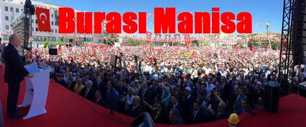 MHP'NİN MANİSA MİTİNGİ MUHTEŞEMDİ, BAHÇELİ COŞTU...