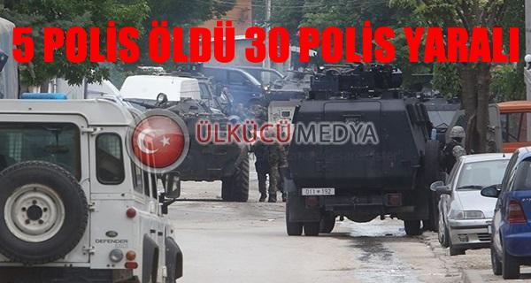 Makedonya'da silahlı çatışma: 5 polis öldü, 30 polis yaralı
