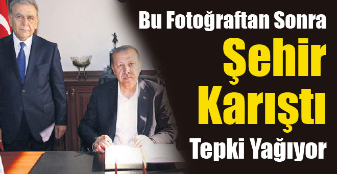 Kocaoğlu'nun Fotoğrafına Sosyal Medyadan Tepki