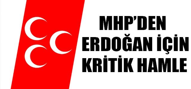 MHP'DEN ERDOĞAN BAŞVURUSU !