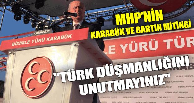 MHP'nin Karabük ve Bartın Mitingi (14.05.2015)