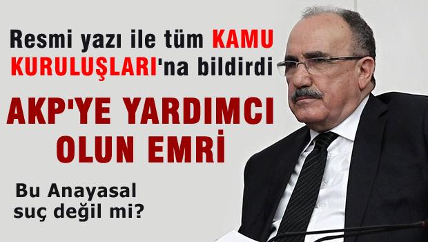AKP'nin seçim reklamları için kamu kurumlarına yazı gönderdi