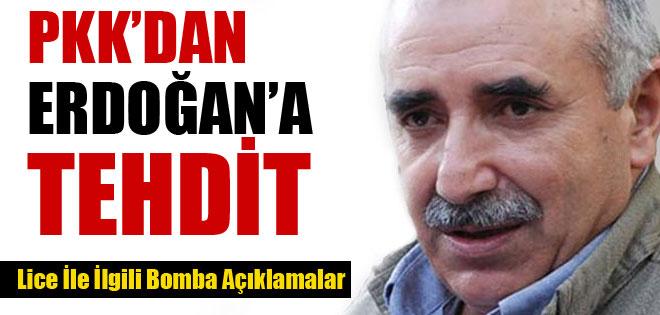 PKK'DAN ERDOĞAN'A AÇIK TEHDİT !