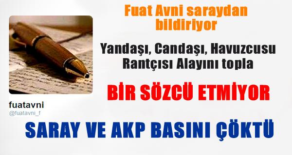 Fuat Avni Saray ve AKP Medyası Çöktü !