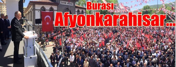 Bahçeli Afyonkarahisar'da AKP'den Kurtuluş Reçetesini Anlattı
