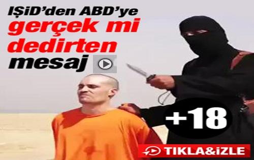 IŞİD'den ABD'yi şok eden infaz videosu !