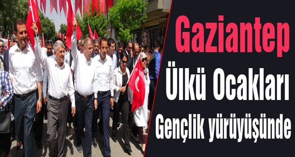 Gaziantep Ülkü Ocakları Gençlik Yürüyüşü