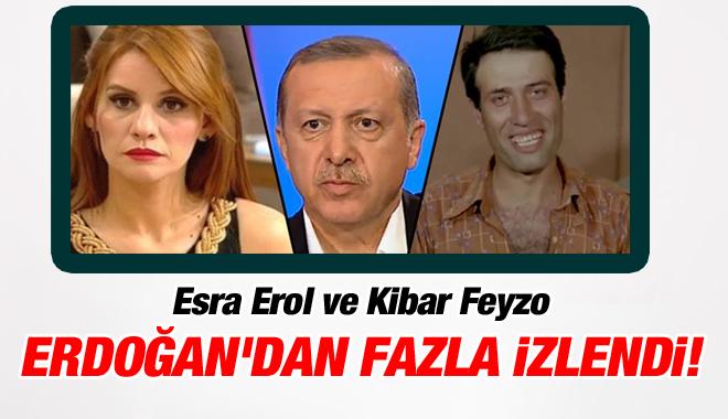 Esra Erol ve Kibar Feyzo Erdoğan'dan Fazla İzlendi