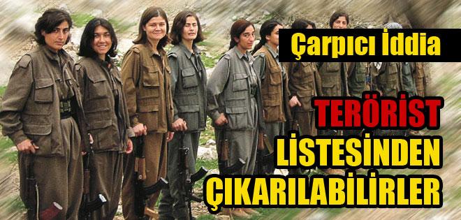 'PKK terör listesinden çıkartılabilir'