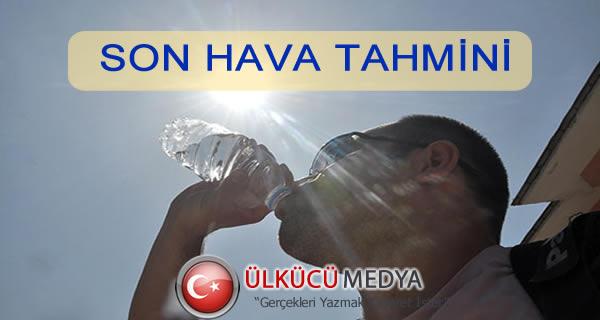 TÜRKİYE GENELİ HAVA TAHMİNİ...