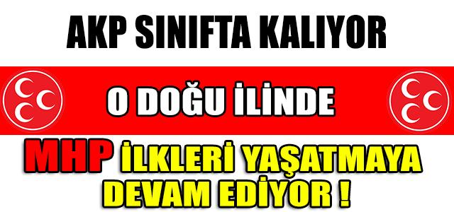 MHP İLKLERİ YAŞATMAYA DEVAM EDİYOR  ...