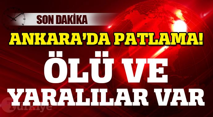 Ankara'da Patlama Ölü Ve Yaralılar Var !
