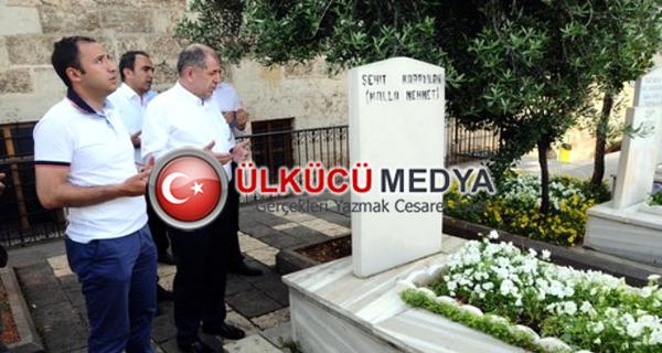 Milli kahramanı sadece MHP'li Özdağ hatırladı...