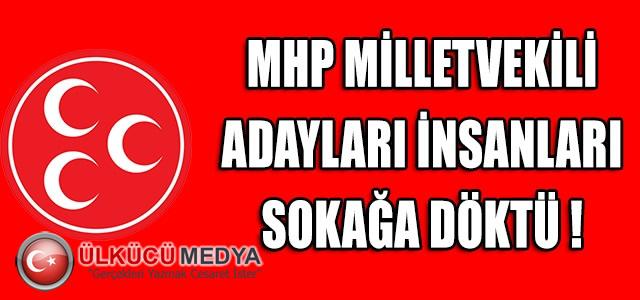 MHP İSTANBUL MİLLETVEKİLİ ADAYLARI İNSANLARI SOKAĞA DÖKTÜ !