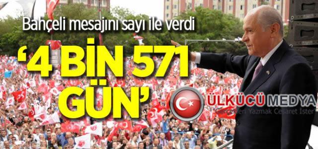 Devlet Bahçeli'nin AKP iktidarı hesabı...