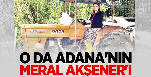 Çukurova'nın Akşeneri MHP Adayı Elif Loğoğlu