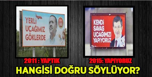 AKP  2011'de 'yaptık', 2015'te 'yapacağız'